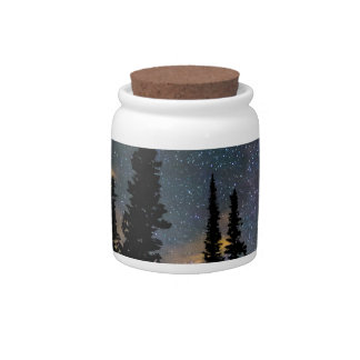 Camping Star Light Star Bright Candy Jar