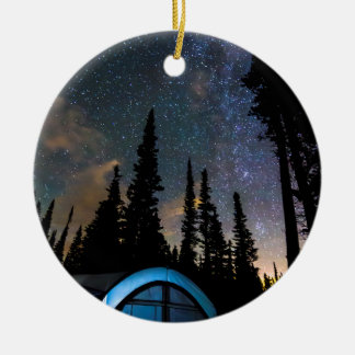 Camping Star Light Star Bright Ceramic Ornament