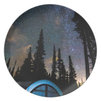 Camping Star Light Star Bright Dinner Plate