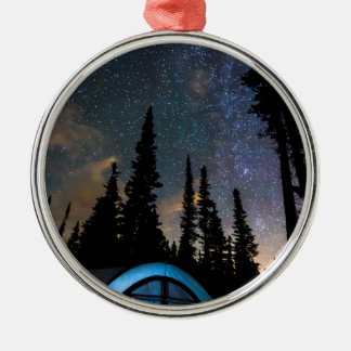Camping Star Light Star Bright Metal Ornament