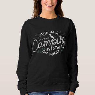 Camping State Of Mind   California Sweatshirt