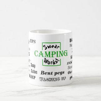 Camping Swear Words! - Funny Outdoors Mug