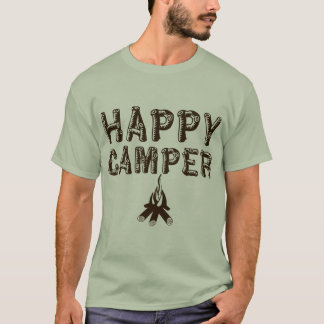Camping T-Shirt - Happy Camper