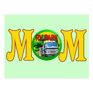 Camping T-shirts and Gifts For Mom Postcard