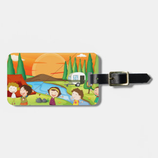 Camping Tag For Luggage