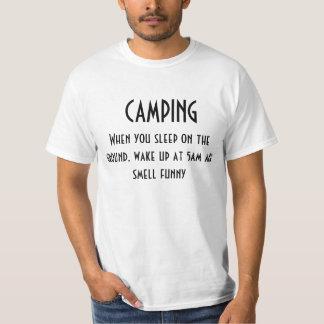 camping tee shirt