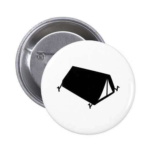 camping tend icon pins
