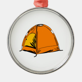 Camping Tent Christmas Ornament