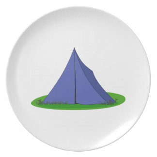 Camping Tent Dinner Plates