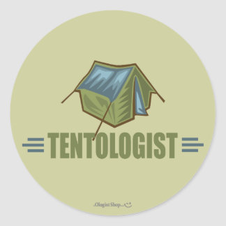 Camping, Tent Stickers