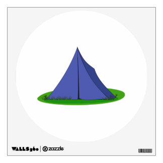 Camping Tent Wall Sticker