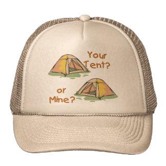 Camping Tents Trucker Hat