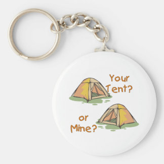 Camping Tents Keychain