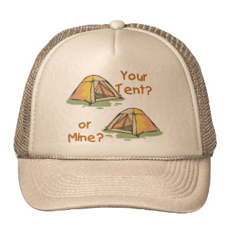 Camping Tents Mesh Hat