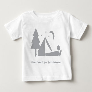 Camping.....the cure to boredom infant t-shirt