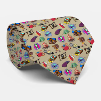 camping, tie