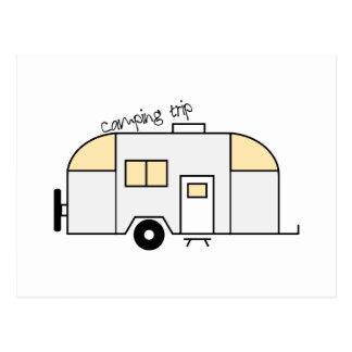 Camping Trip Postcard