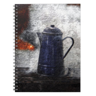 Camping With the Stars Spiral Notebook
