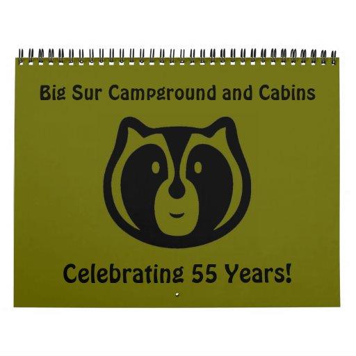 Camping y cabinas grandes de Sur Calendario