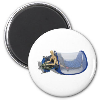 CampingOut081510 2 Inch Round Magnet