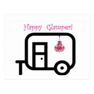 ¡Campista contento Glamper feliz!! Postales