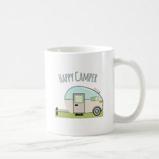 Campista contento taza