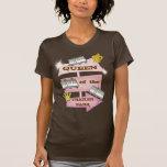 Campista de rv/camiseta retros divertidos del remo
