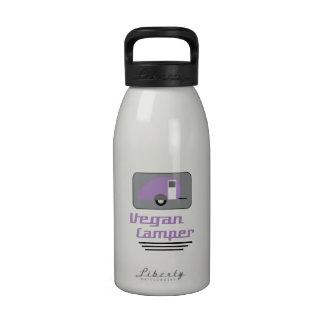 Campista del vegano II Botellas De Beber