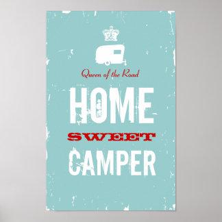 Campista dulce casero - reina del camino de rv póster