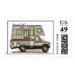 Campista rv de ClassC Timbre Postal