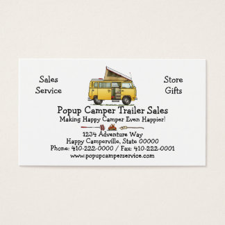 Campmobile Camper Van Business Card