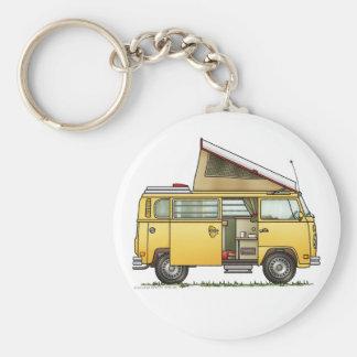 Campmobile Camper Van Keychain