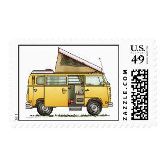 Campmobile Van Camper RV Postage