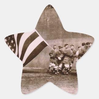Campo 1914 de Ebbets de la ceremonia de aumento de Pegatina En Forma De Estrella