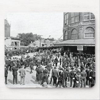 Campo 1920 de Ebbets Mousepad Alfombrillas De Ratones