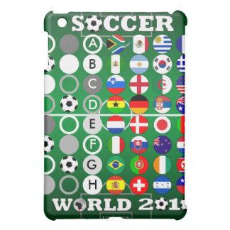 Campo 2010 del caso del iPad de las banderas de Go