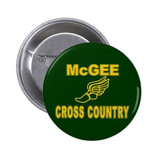 Campo a través de McGee Pins