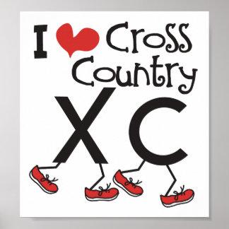 Campo a través del corazón I amor que corre XC Poster
