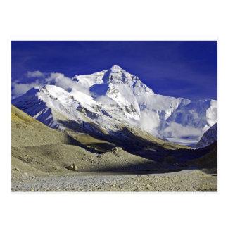 Campo bajo Tíbet de Everest Postales