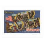 Campo Carson, Colorado - pico de los lucios Postales