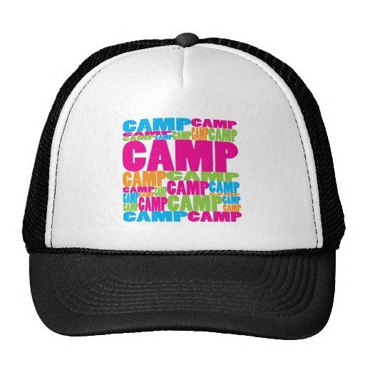 Campo colorido gorras de camionero