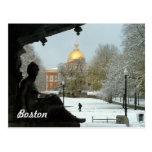 Campo común de Boston Tarjetas Postales