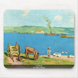 Campo común por Sisley Alfred Tapete De Raton