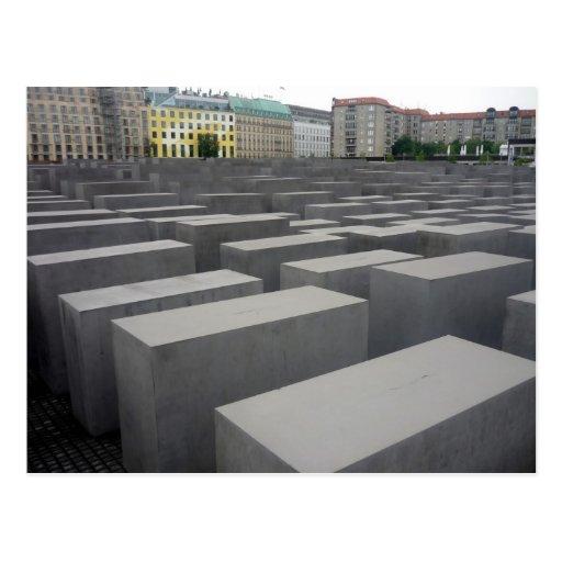 campo conmemorativo Berlín Tarjeta Postal