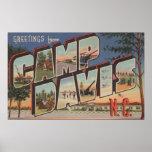 Campo Davis, Carolina del Norte - escenas grandes  Póster