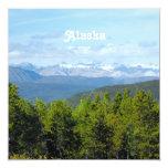 Campo de Alaska Invitación Personalizada