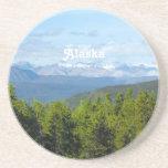 Campo de Alaska Posavasos Manualidades