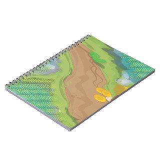 Campo de arroz cuadernos