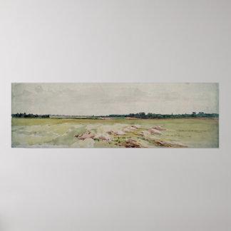 Campo de batalla de Agincourt, el 25 de octubre de Póster