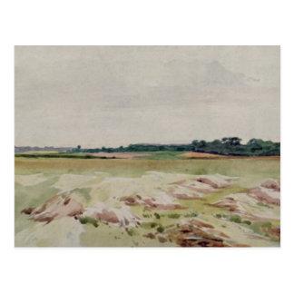Campo de batalla de Agincourt, el 25 de octubre de Tarjeta Postal